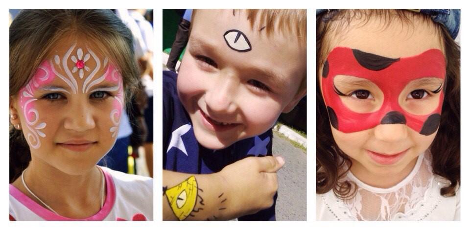 Аквагрим для детей своими руками идеи рисунков 49